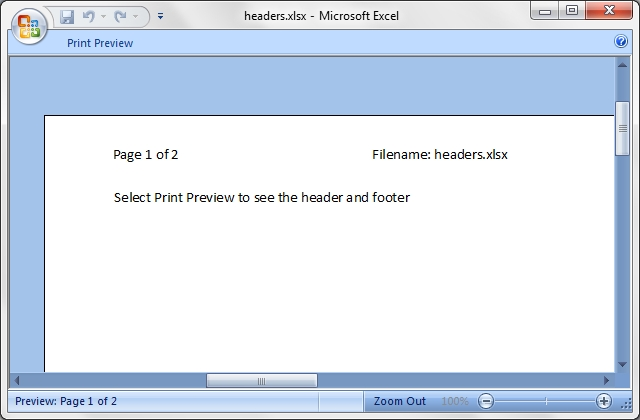Output from headers.pl