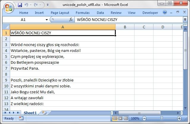 Output from unicode_polish_utf8.pl