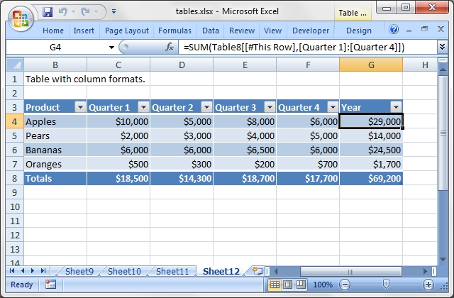 Excel::Writer::XLSX - Create a new file in the Excel 2007+